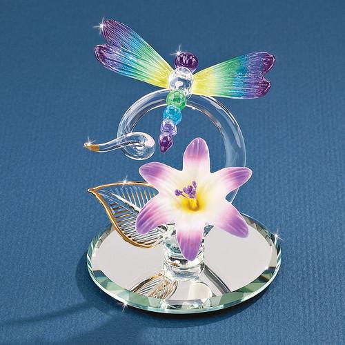 Dragonfly Glass Figurine GM1215