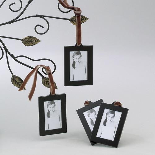Set of 4 Aluminum Hanging Wallet Size Frames GM1922