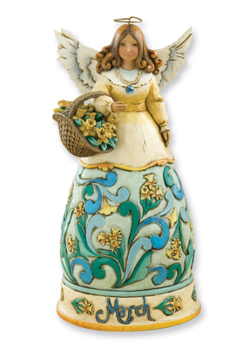 Heartwood Creek March Angel Figurine GM3371