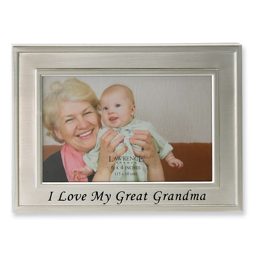 I Love My Great Grandma 6 x 4 Inch Picture Frame GM4537