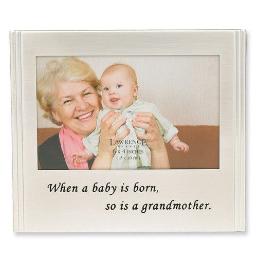 When a Baby is born... 6 x 4 Inch Picture Frame GM4559