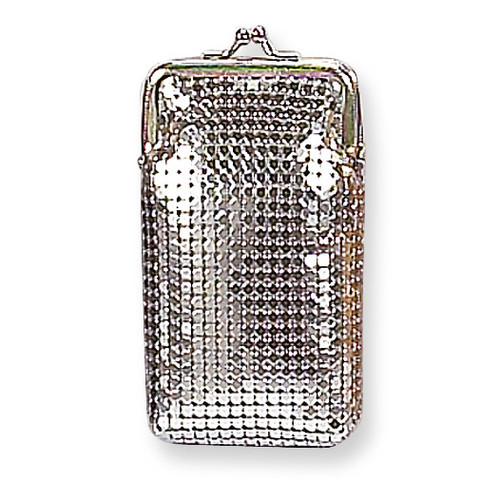 Silver-tone Sequin Cigarette Case GM4873