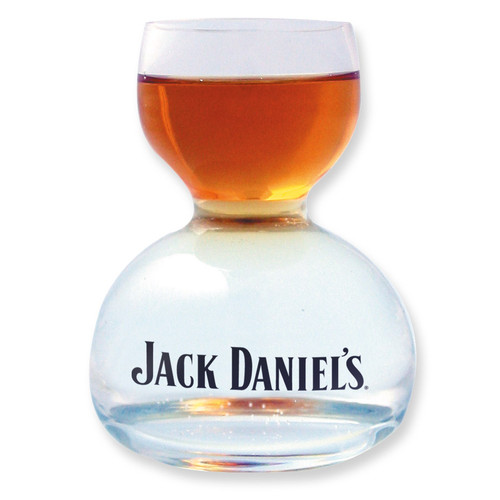 Jack Daniel's 2 oz. Whiskey on 4 oz. Water Glass GM5403