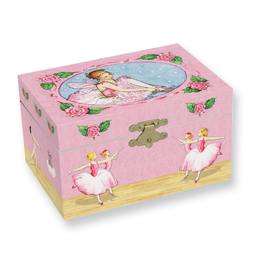 Child's Ballerinas Musical Jewelry Box GM5852