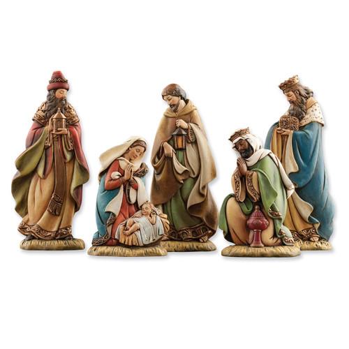 5Pc Flat Nativity Figurines GM5865