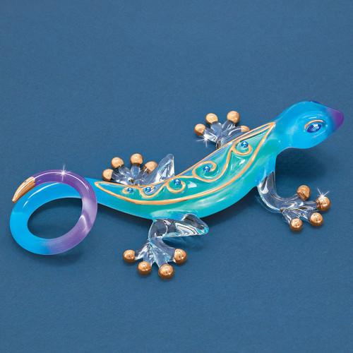 Desert Jewel Gecko Glass Figurine GM6737