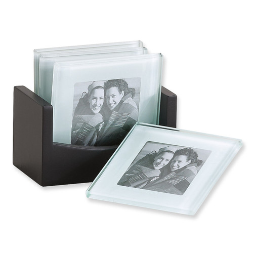 Set of 4 Photo Glass Coaster GM6832