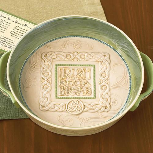 Irish Ceramic Soda Bread Dish GM8634