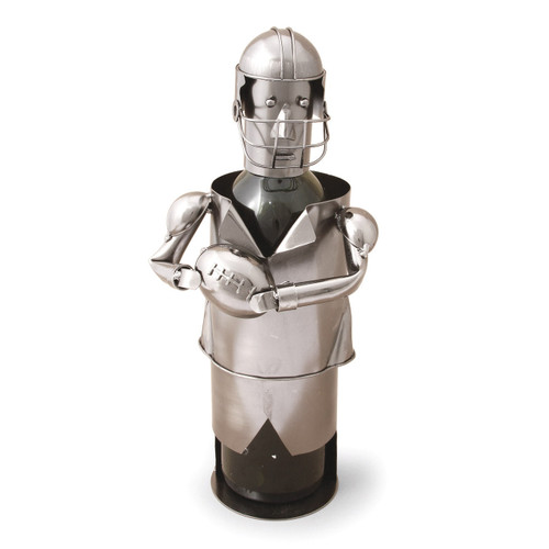 Football Player Metal Wine Caddy GM8711