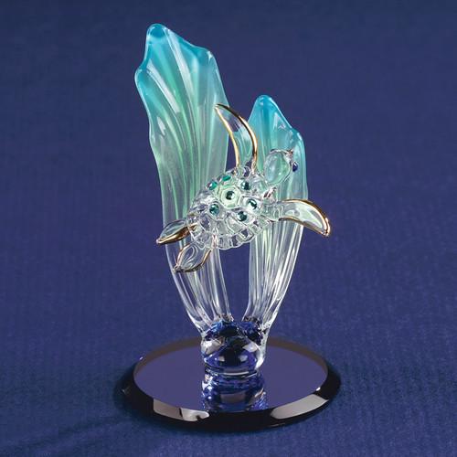 Sea Turtle Glass Figurine GP1145