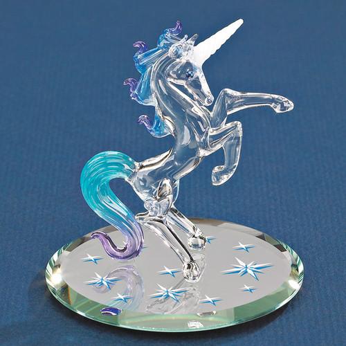 Starlight Unicorn Glass Figurine GP6048