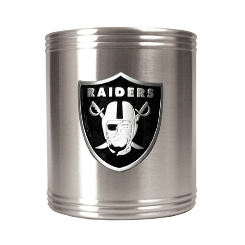 Oakland Raiders Insulated Stainless Steel Holder GC186