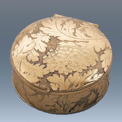Haffke Bronze Accessories Round Pill Box