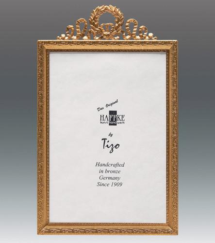 Haffke Bronze Louis XIV Picture Frame 2.5 x 3.5 Inch