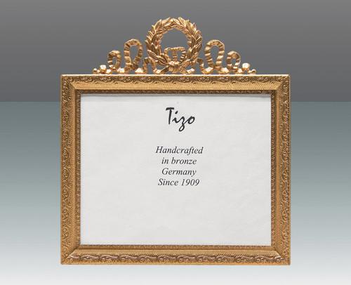 Haffke Bronze Louis XIV Picture Frame 2.5 x 3.5 Inch Horizontal