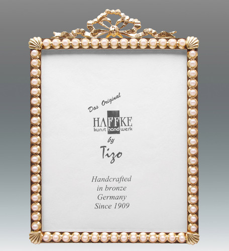 Haffke Bronze with Pearl Picture Frame 4 x 6 Inch