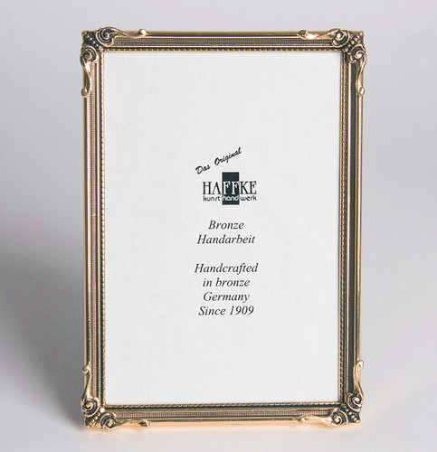 Haffke Nature Bronze Picture Frame 2.5 x 3.5 Inch