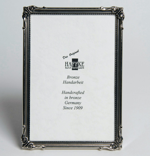 Haffke Nature Silver Picture Frame 4 x 6 Inch
