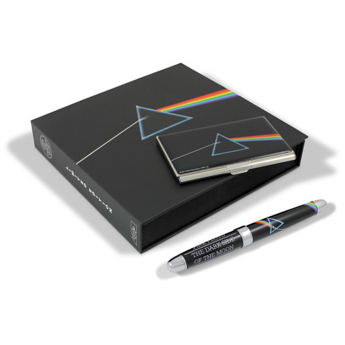 ACME Dark Side Of The Moon Pen & Card Case Set By Pink Floyd