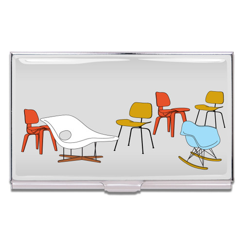 ACME Eames Chairs Business Card Case By Charles & Ray Eames
