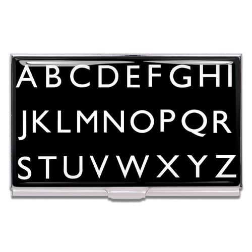 ACME Alphabet Business Card Case By Rod Dyer
