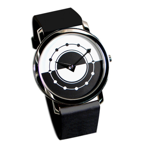 ACME Dia Y Noche - Black Wrist Watch By Alberto Berga-Perales