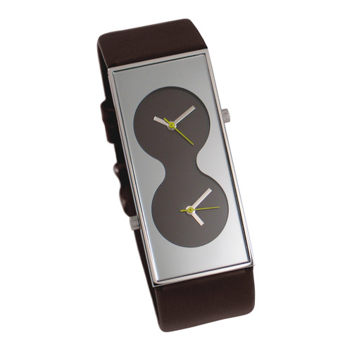 ACME Bi Brown Wrist Watch By Karim Rashid