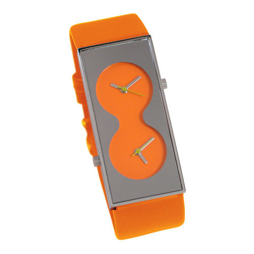 ACME Bi Orange Wrist Watch By Karim Rashid