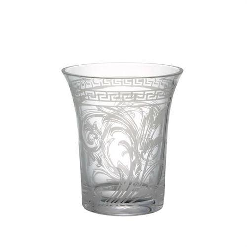Versace Arabesque Vase Crystal 7 inch Clear