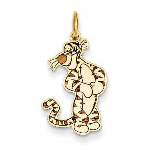 Disney Tigger Charm 14k Gold WD202Y