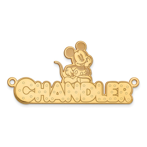 Disney Nameplate 14k Gold XNA465Y