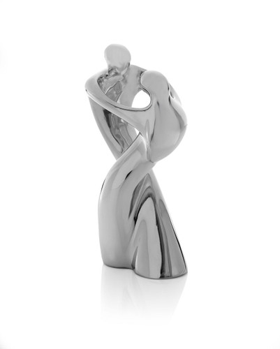 Nambe Embrace Sculpture by Alvaro Uribe