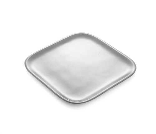 Nambe Square Platter 11 Inch by Nambe