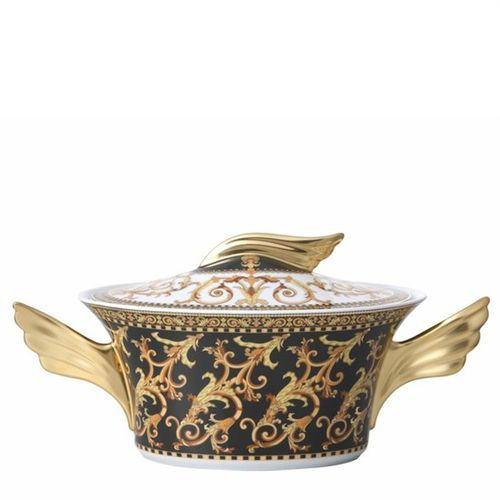 Versace Barocco Vegetable Bowl Covered 54 ounce