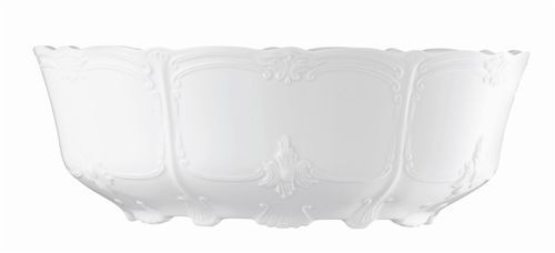 Rosenthal Baronesse White Vegetable Bowl Open 10 inch, ounce