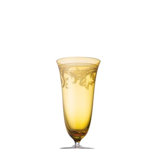 Versace Arabesque Water Goblet 20 ounce Amber