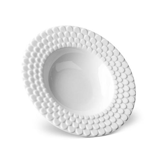 L'Objet Aegean Soup Plate White