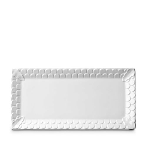 L'Objet Aegean Rectangular Platter White