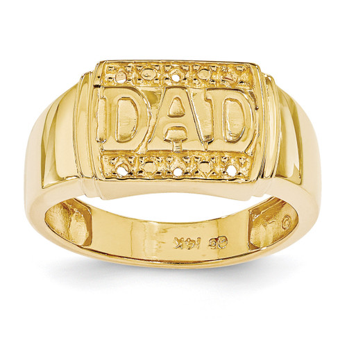 DAD Ring Mounting 14k Gold Polished X9459