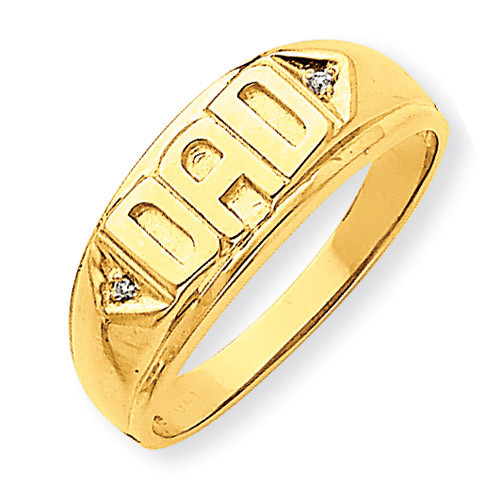 Oval Top Diamond DAD Ring Mounting 14k Gold Y1611