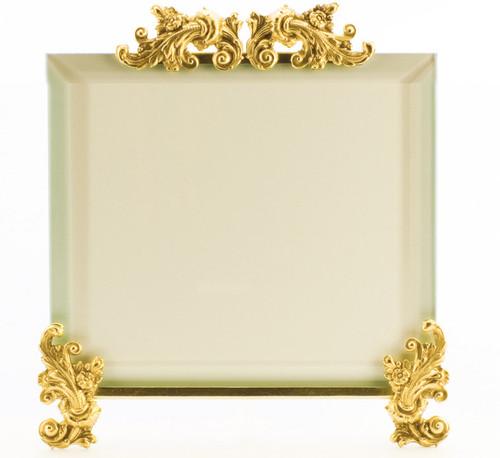 La Paris Acanthus 10 x 10 Inch Brass Picture Frame