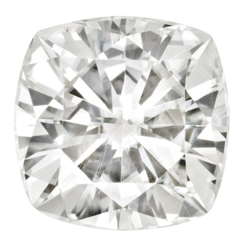 6.5 mm Sq Cush Moissanite Stone Forever Brilliant MT-0650-CUF-FB