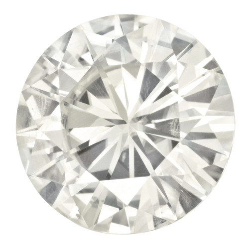 14 mm Round Moissanite Stone White MT-1400-RDF-WH