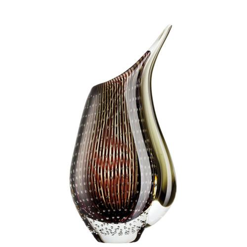 Rosenthal Dewdrop Cream Brown Vase 11 3/4 inch