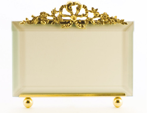 La Paris Florentine 8 x 10 Inch Brass Picture Frame - Horizontal