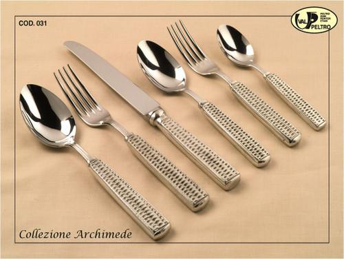 ValPeltro Archimede Carve Fork Pewter