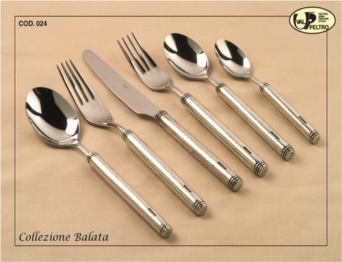 ValPeltro Balata Dessert Spoon Pewter