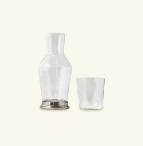 Match Pewter Bedside Carafe And Tumbler