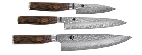 Shun Premier 3 Piece Starter Knives Cutlery Set