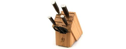 Shun Premier 6 Piece Basic Block Knives Cutlery Set